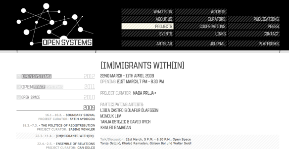 (IM)MIGRANTS WITH(IN)