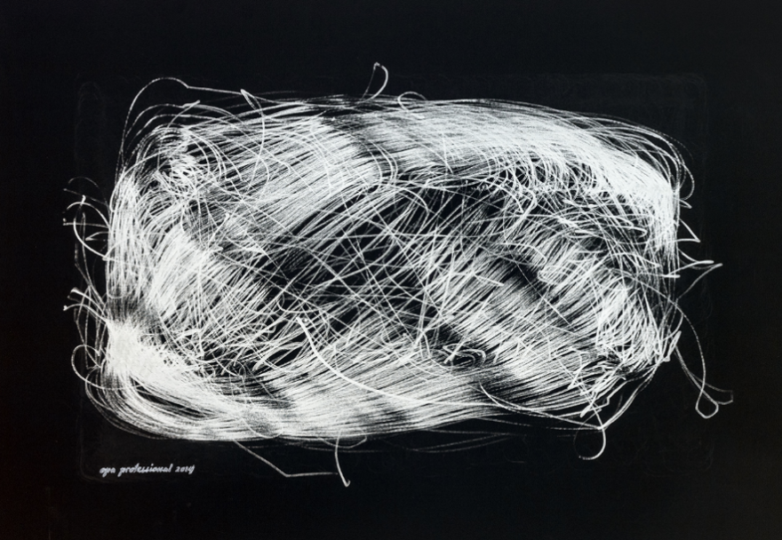 INFINITY 2014 marker on paper, 70x100cm