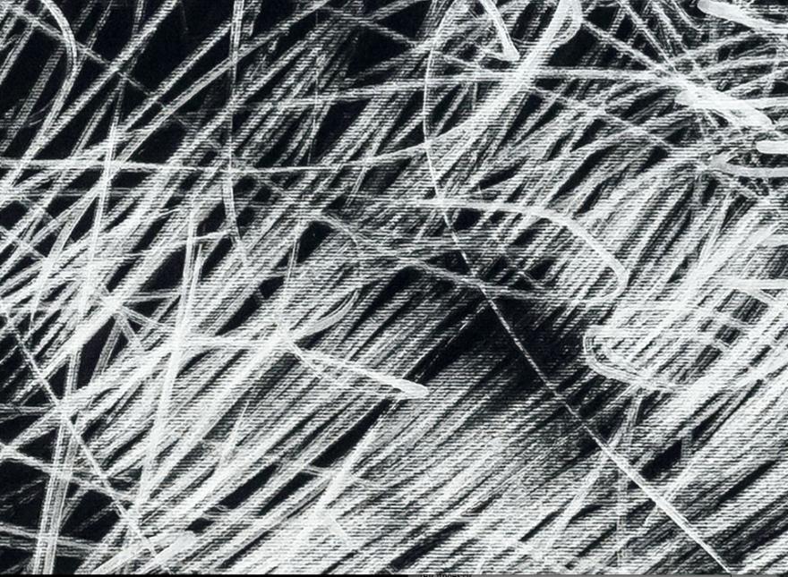 Бесконечност 2014 фломастер на хартија, 70x100cm (детаљ)
