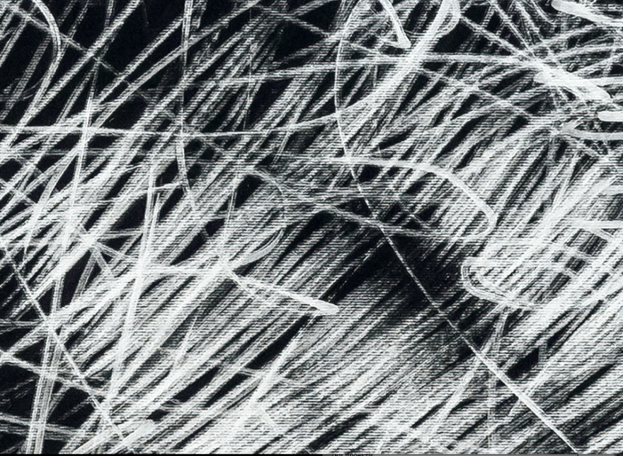 Бесконечност 2014 фломастер на хартија, 70x100cm  (детал)