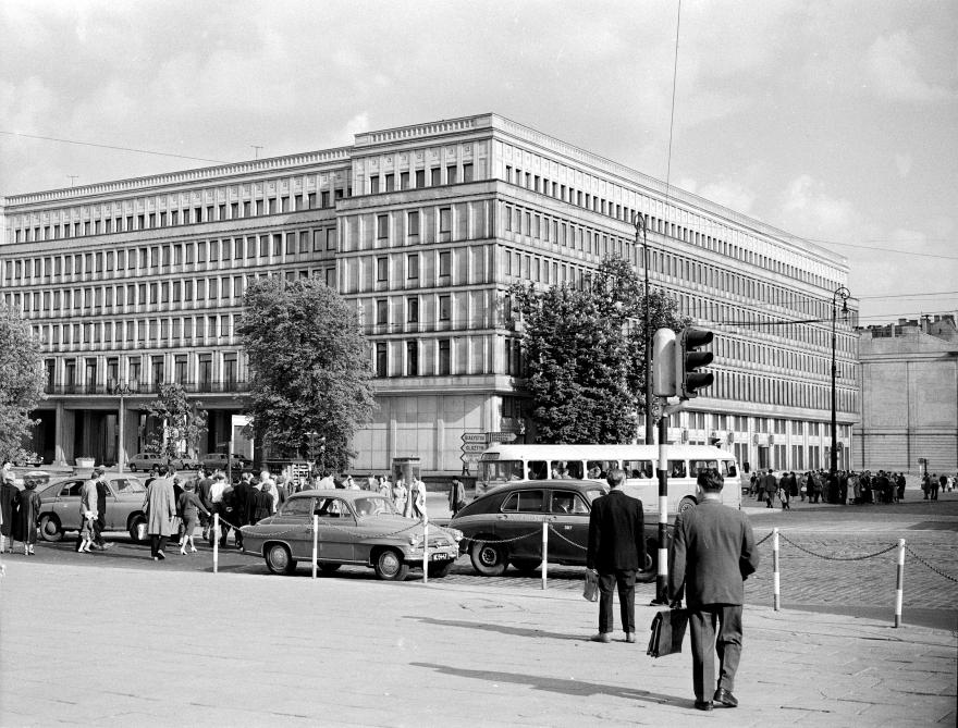 Зграда на Централниот комитет на Полската обединета работничка партија, Варшава