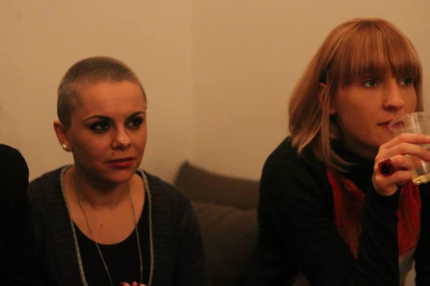 With Irena Cvetkovik.